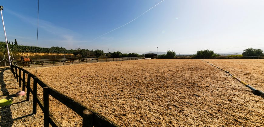 Equestrian property with luxury Villa
